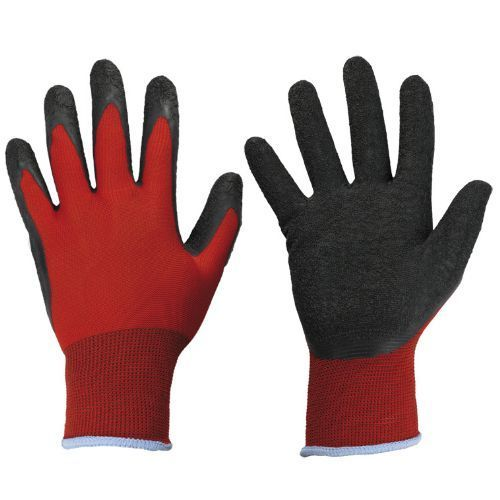 Latex beschichtete Handschuhe  BLACKGRIP