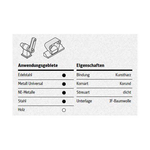 Schleifband Mit Gewebeunterlage Fur Edelstahl Metall Universal
